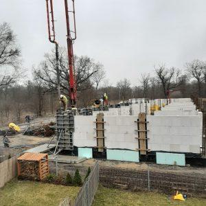 Prace na budowie nabierają tempa - marzec 2021